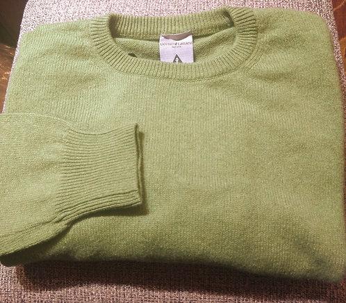 Crew Neck Sweater in Green