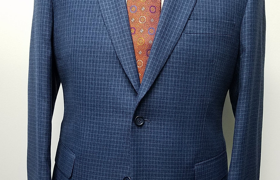 Blue Check Sport Coat