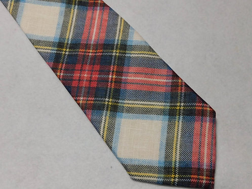 Italian Linen Bellinzona Privileged Tartan