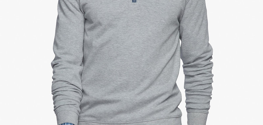 Johnnie-o Pullover in Lite Gray*