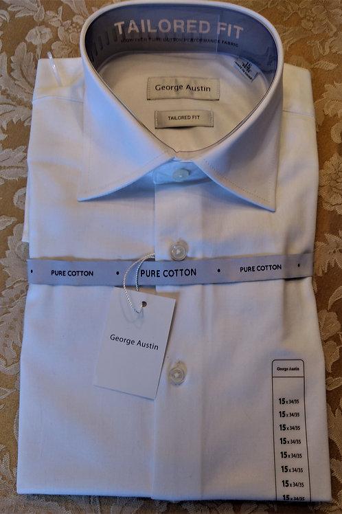 George Austin Dress Shirt-White