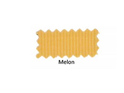 Melon Ribbed V-Neck short sleeve shirt