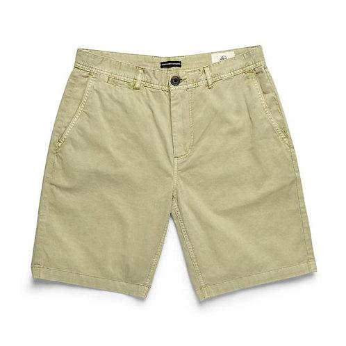 Flat Front Short-Khaki