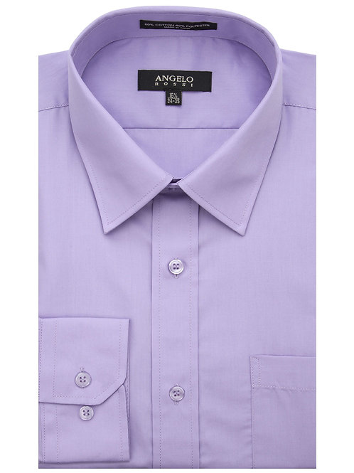Angelo Rossi Dress Shirt-Lavender