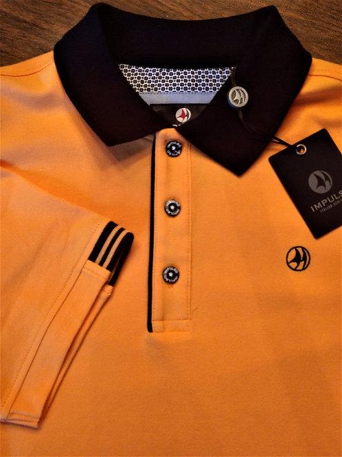 IMPULSO by Montechiaro-Orange Sherbert Polo*