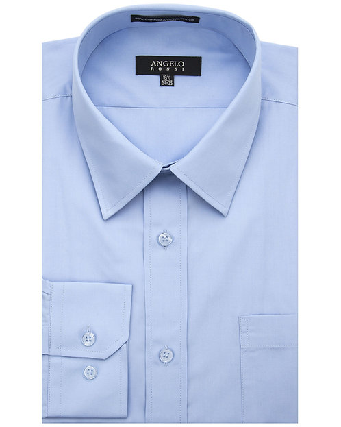 Angelo Rossi Dress Shirt-Baby Blue