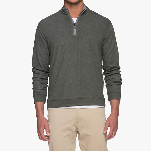 Johnnie-o Pullover in Pine