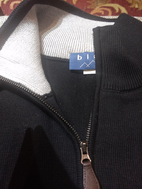 1/4 Zip Sweater from Blue