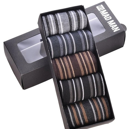 Mad Man 5 Piece Variegated sock set