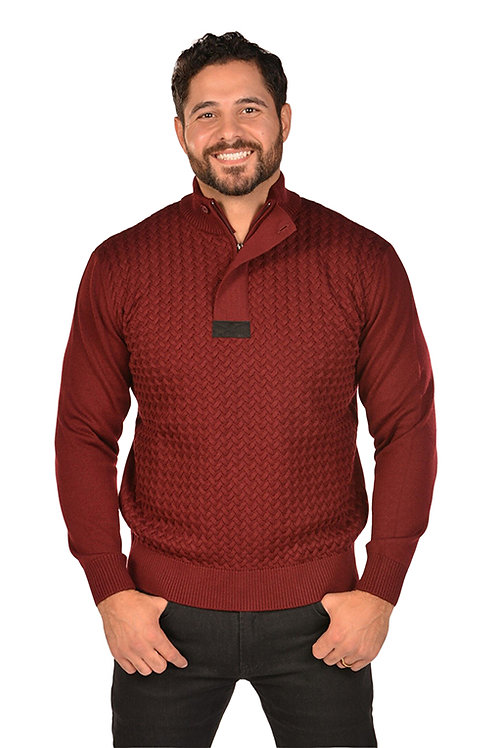 RGB-Cable Burgundy Sweater