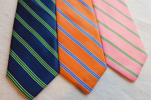 Woven Silk Repp Stripe