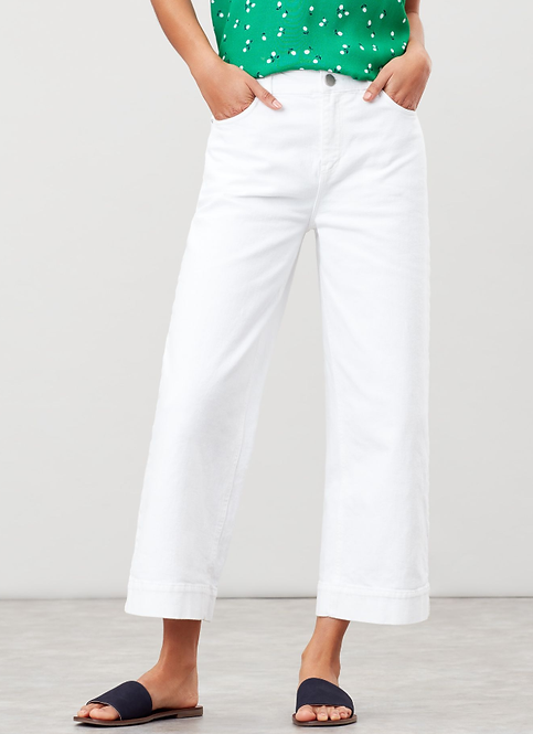 CONNIE WIDE LEG CROPPED JEAN