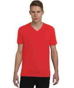 V-Neck-Red