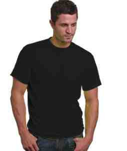50/50 T-Shirt-Black