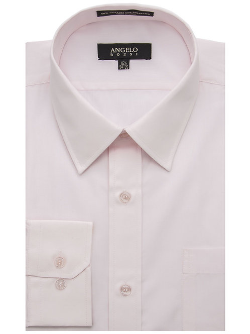 Angelo Rossi Dress Shirt-Pink