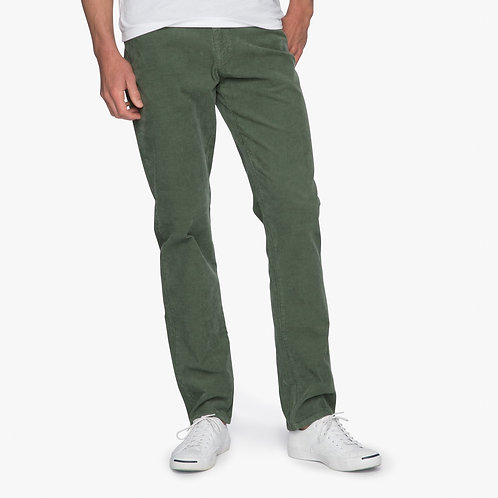 Ramsey Stretch Corduroy 6-Pocket pant in Thyme*