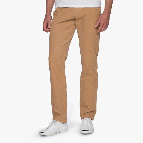 Ramsey Stretch Corduroy 6-Pocket pant in Khaki*