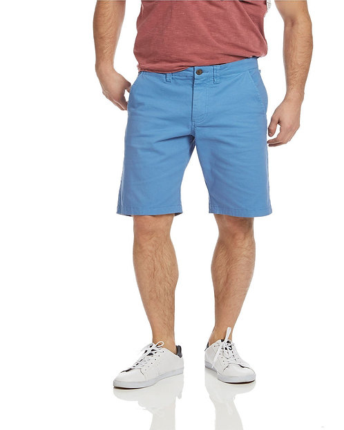 Memphis Stretch Short-Dusty Blue
