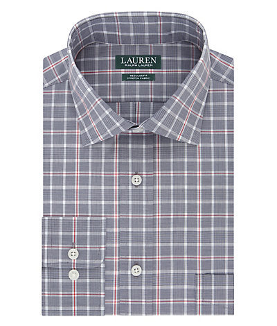Ralph Lauren Regular Fit Non Iron Stretch Plaid