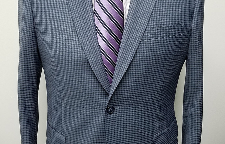 Grey/Blue Sport Coat