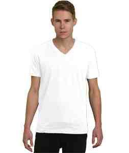 V-Neck-White