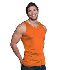 Tank Top-Bright Orange