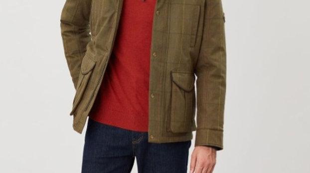 Fullerton Tech. Tweed Waterproof Jacket*
