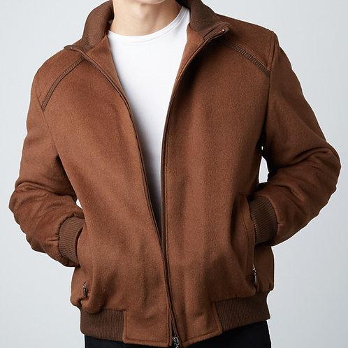 Cashmere/Wool Bomber Jacket