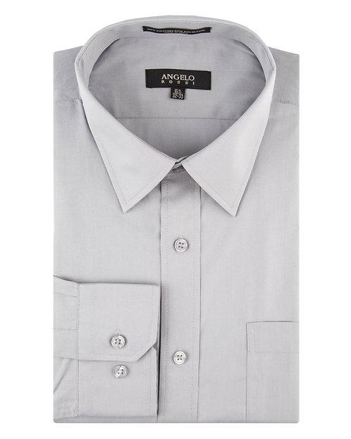Angelo Rossi Dress Shirt-Grey