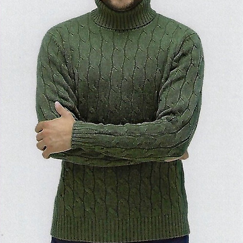 100% Cashmere   Turtle Neck