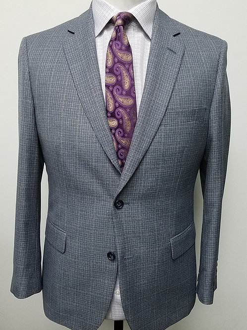 Gray/Blue Check Sport Coat