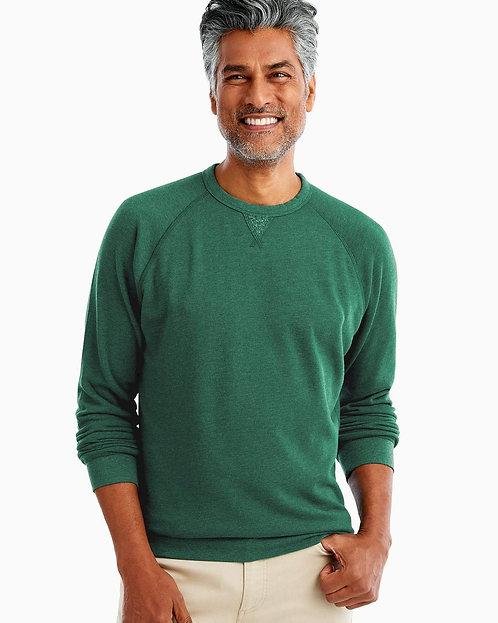 Johnnie-o Pamlico Sweatshirt In Green