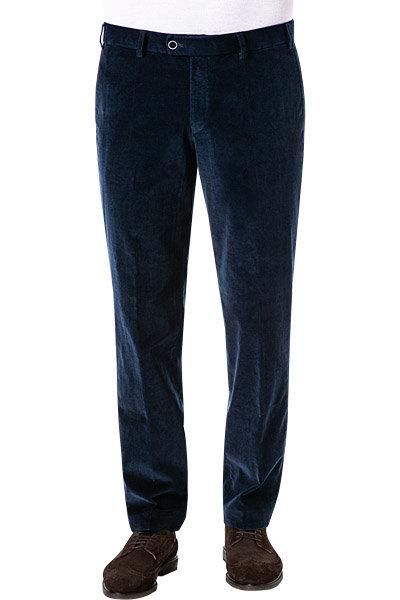 Hiltl: Corduroy pant in Sapphire Blue