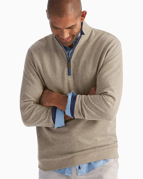 Johnnie-o Sully Pullover in  Hickory