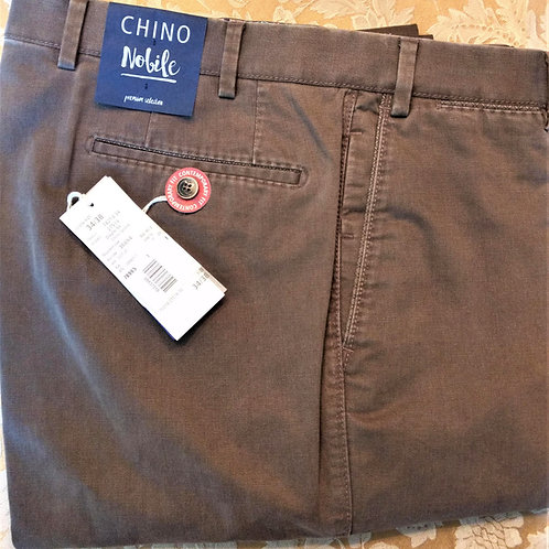 Hiltl: Chino Nobile pant in Light Brown