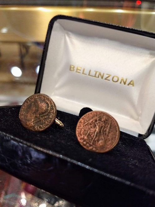 Authentic Coins from 310 AD Cufflinks