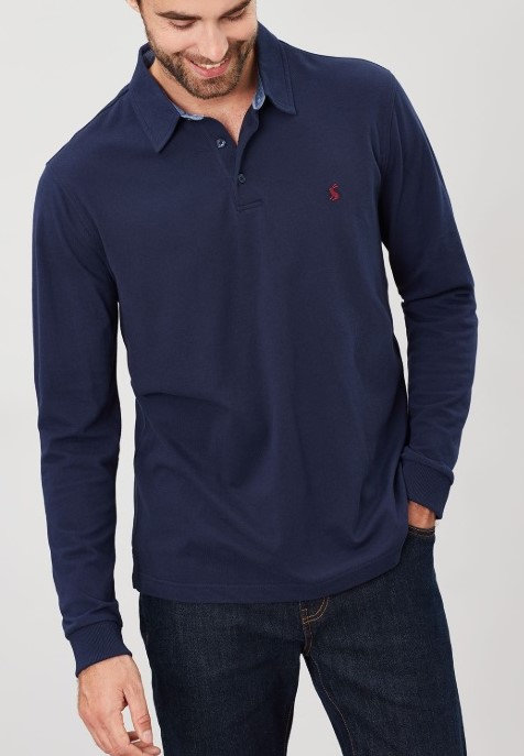 Woodwell Long Sleeve Polo*