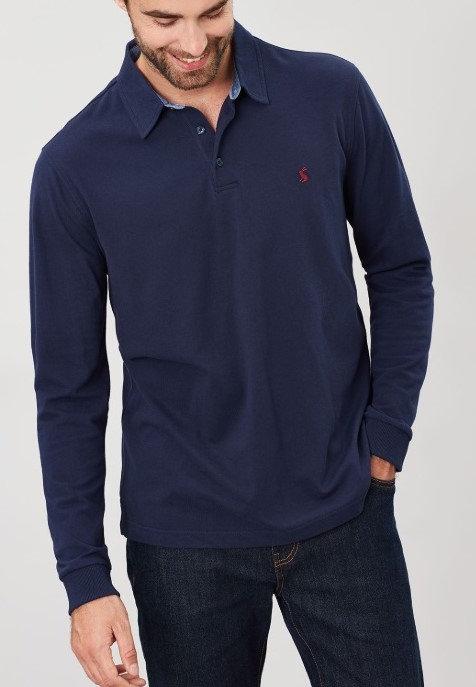 Woodwell Long Sleeve Polo