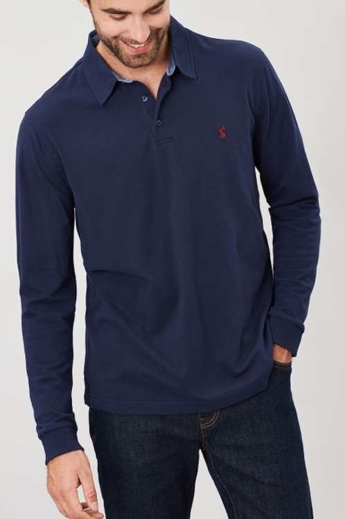 Woodwell Long Sleeve Polo^
