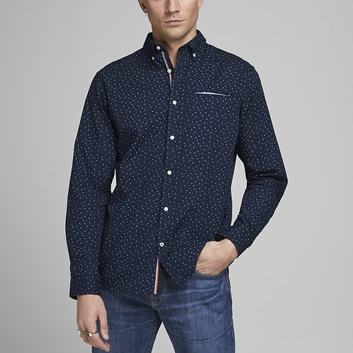Jack & Jones Sport shirt  Thomas in Navy