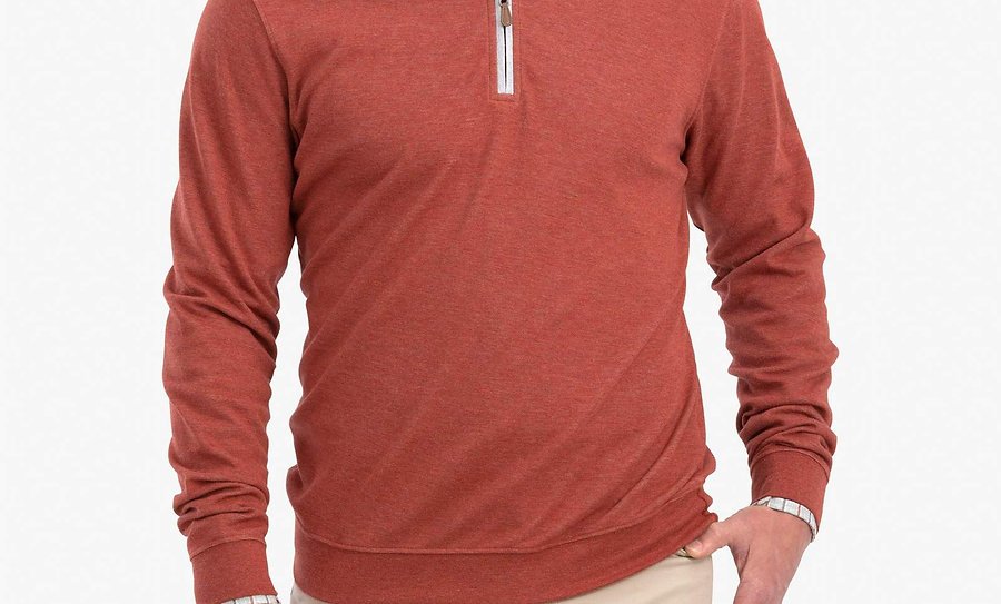 Johnnie-o Pullover in Spice*