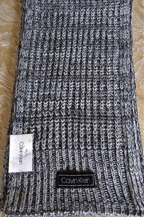 Calvin Klein woven Grey scarf