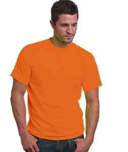 50/50 T-Shirt-Orange