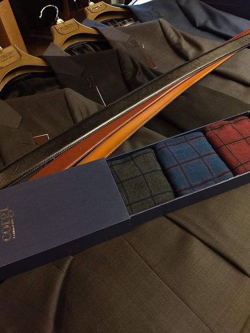 3 Corgi Luxury Socks with Gift Box