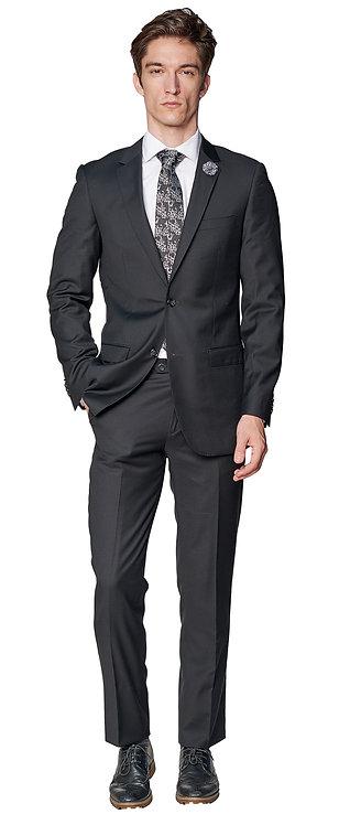 Giovanni Bresciani Black Suit