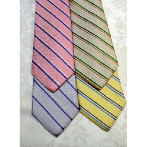 Bellinzona Woven Silk Stripe