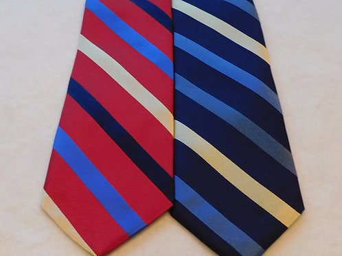 Woven Silk Stripe