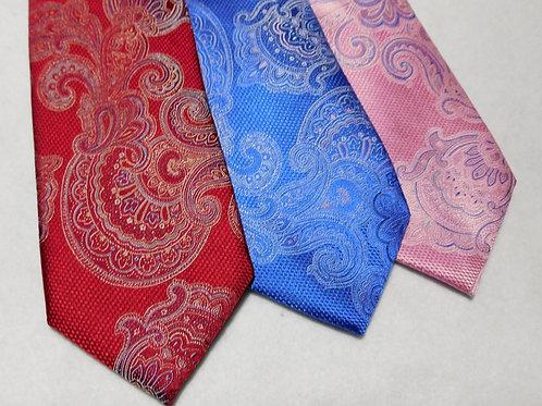 Bellinzona Italian Woven Silk Paisley