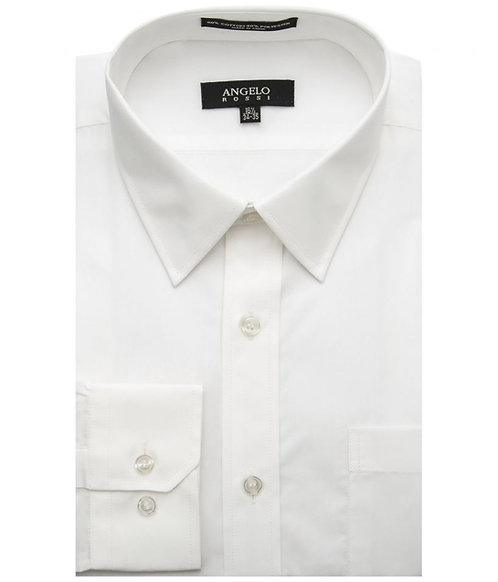 Angelo Rossi Dress Shirt-White