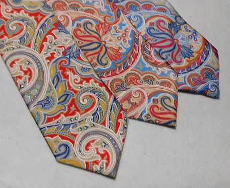 Bellinzona Privileged Italian Woven Silk Paisley